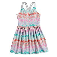 Girls 4-12 SONOMA Goods for Life™ Braided Strap Skater Dress