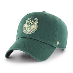 Adult '47 Brand Milwaukee Bucks Clean Up Adjustable Cap