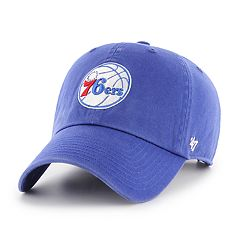 Adult '47 Brand Philadelphia 76ers Clean Up Adjustable Cap