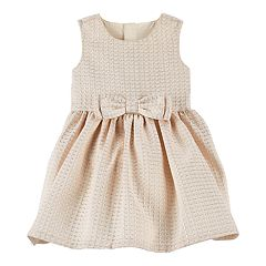 Baby Girl Carter's Bow Lurex Dress