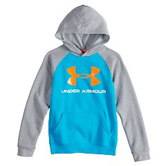 Boys shirts tops kohls boys 8 20 under armour rival logo hoodie gumiabroncs Gallery