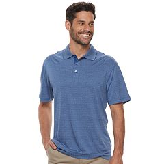 Men's Haggar Cool 18® Regular-Fit Performance Micro Square Polo