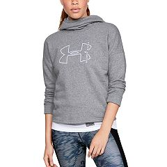 Women's Under Armour Rival Graphic Funnel-Neck Hoodie