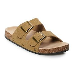 d57cd99b200b7f Mudd® Women s Double Buckle Slide Sandals
