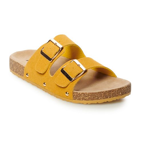 87dfada16bb2 Mudd® Women s Double Buckle Slide Sandals