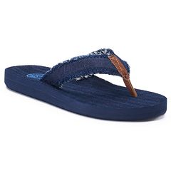 Women's SO® Frayed Lami Sandals