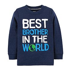 Toddler Boy Carter's 'Best Brother In The World' Graphic Tee