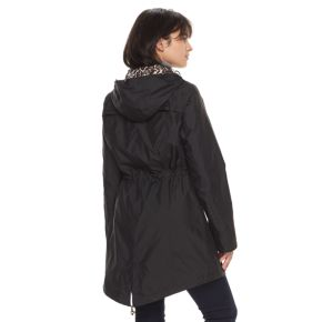 Women's Gallery Hooded Packable Rain Jacket