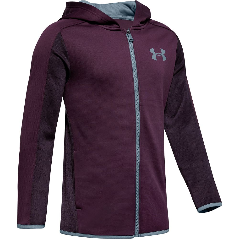 Boys 8-16 Under Armour Armour Fleece Full-Zip Hoodie