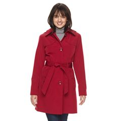 Women's Gallery Hooded Trench Coat