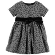 Baby Girl Carter's Animal Print Dress