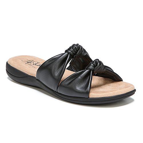 LifeStride Eden Women's Knot ... Slide Sandals 0Ywseu3v0