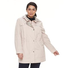 Plus Size Gallery Hooded Anorak Stadium Jacket