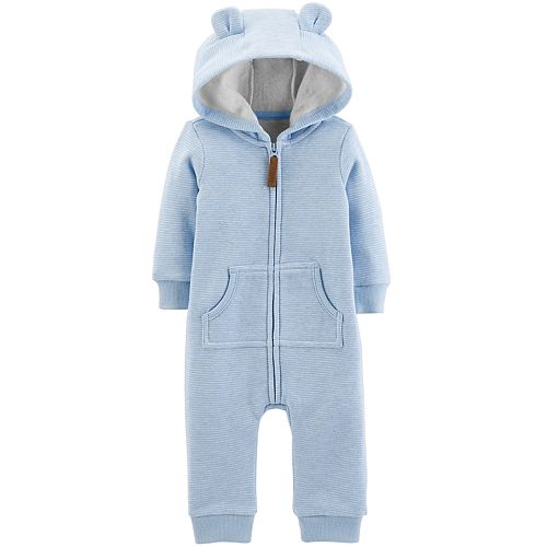 663a91f50 Baby Boy Carter's Fleece-Lined Bear Coverall