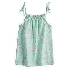 Toddler Girl Jumping Beans® Printed Smocked Tank Top