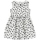 Baby Girl Carter's Heart Lurex Dress