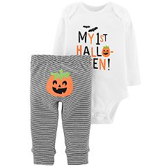 Baby Carter's My 1st Halloween Bodysuit & Pants Set