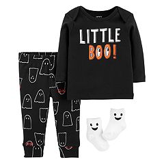 baby carters 3 piece halloween outfit set