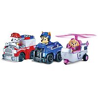 Paw Patrol Racers Rescue Marshall, Spy Chase & Skye 3-Pack Vehicle Set by Spinmaster!