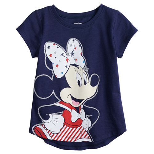 162c83860 Disney's Minnie Mouse Baby Girl Patriotic Graphic Tee by Jumping Beans®