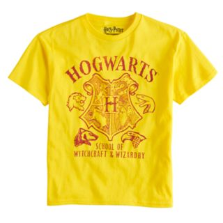 Boys 8-20 Harry Potter Hogwarts Tee