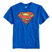Boys 8-20 Superman Logo Tee