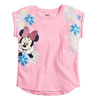 Disney's Minnie Mouse Girls 4-10 High-Low Roll Cuff Dolman Tee by Jumping Beans®