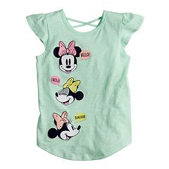 Disney's Minnie Mouse Girls 4-7 'Hello' Graphic Tee by Jumping Beans®