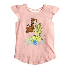 Disney's Beauty & The Beast Belle Girls 4-7 Slubbed Graphic Tee by Jumping Beans®