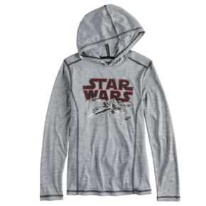 Boys 8-20 Star Wars X-Wing Hooded Tee