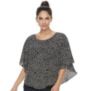 Women's ELLE™ Crepe Popover Top