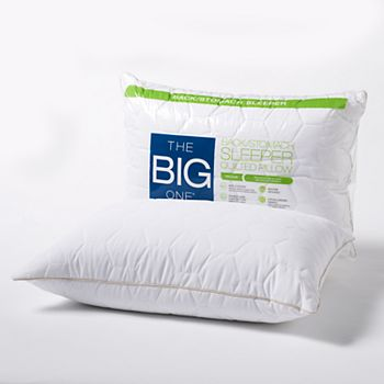 The Big One Quilted Back & Stomach Sleeper Bed Pillow