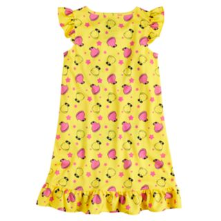 """Girls 4-12 """"Holla At My Peeps"""" Knee-Length Dorm Nightgown"""