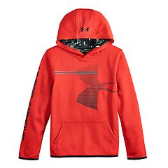 Boys 8-20 Under Armour Armour Fleece Pull-Over Hoodie