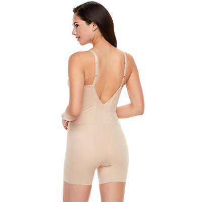 Women's Naomi & Nicole Shapes Your Curves Low Back Body Shaper 7340
