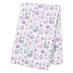 Trend Lab Llama Friends Jumbo Deluxe Flannel Swaddle Blanket
