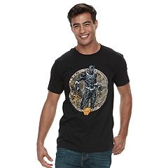 Men's Marvel Black Panther Medallion Tee