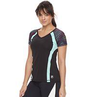Women's FILA SPORT® Raglan Short Sleeve Tee