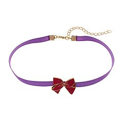 Girls 5-12 JoJo Siwa Bow Charm Chocker Necklace