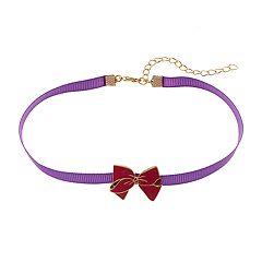 Girls 5-12 JoJo Siwa Bow Charm Chocker Necklace