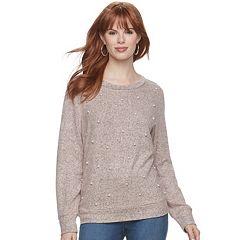 Women's Juicy Couture Embellished Crewneck Sweatshirt