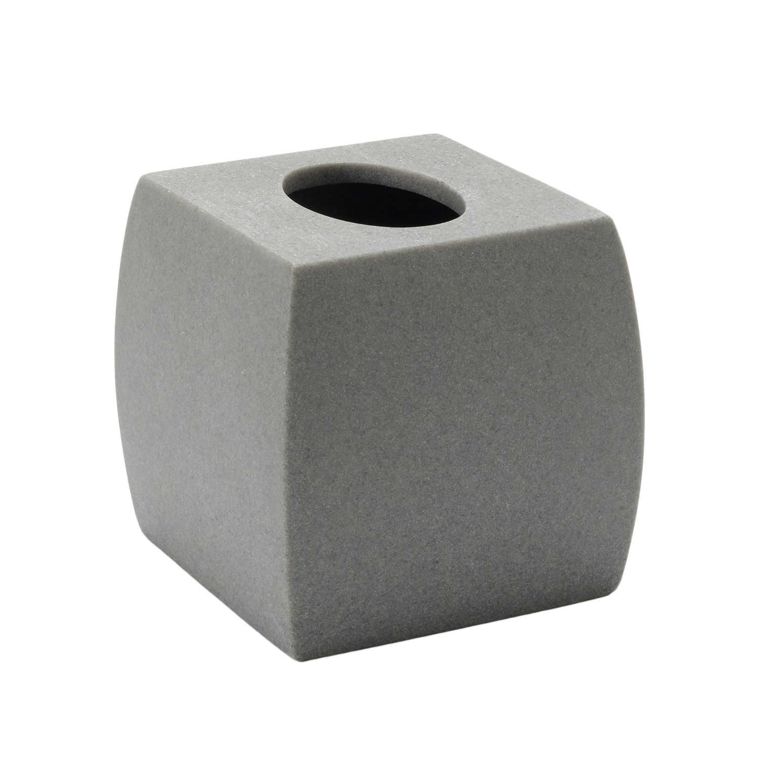 SONOMA Goods For Life™ Resin Tissue Box Cover. Sand Gray