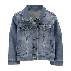 Toddler Girl Carter's Denim Jacket