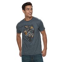 Men's Marvel Black Panther Face Tee