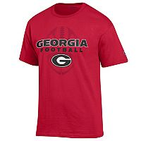Men's Champion Georgia Bulldogs Football Tee