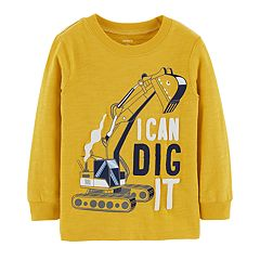 Toddler Boy Carter's 'I Can Dig It' Construction Truck Graphic Tee