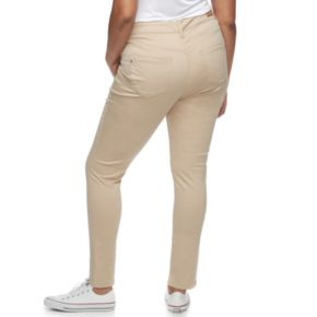 Juniors' Plus Size Unionbay Mid-Rise Karma Skinny Pants