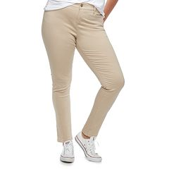 Juniors' Plus Size Unionbay Uniform Karma Skinny Pants