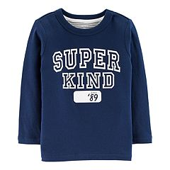Toddler Boy Carter's 'Super Kind' Double Knit Tee
