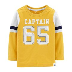 Toddler Boy Carter's 'Captain 65' Applique Tee